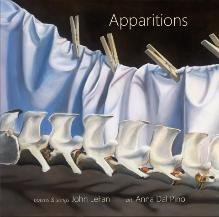 Apparitions, poetry|art book by John LeFan & Anna Dal Pino
