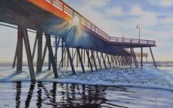 Pismo Pier, watercolor, ©Anna Dal Pino
